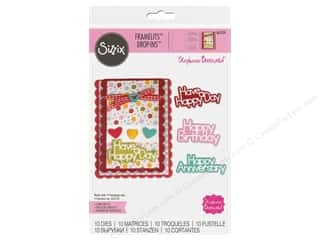 Sizzix Dies Stephanie Barnard Framelits Drop In Scallop