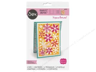 scrapbooking & paper crafts: Sizzix Dies Stephanie Barnard Framelits Drop In Flowers