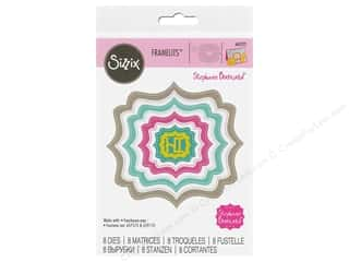 Clearance: Sizzix Dies Stephanie Barnard Framelits Labels Fancy Dotted