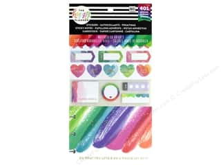 Me&My Big Ideas Happy Planner Sticker Multi Pack Watercolor Brights