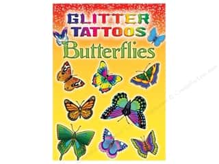 Little Glitter Butterflies Tattoo Book
