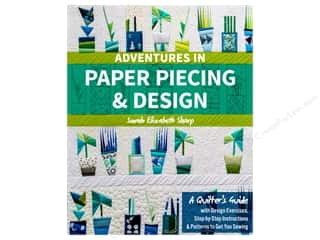 Stash By C&T Adventures In Paper Piecing & Design Book