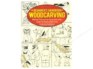 books & patterns: Beginner's Handbook of Woodcarving Book