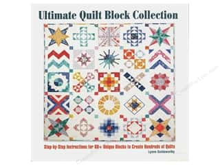 books & patterns: Companion House Ultimate Quilt Block Collection Book