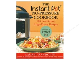 books & patterns: St Martin's Griffin Instant Pot No-Pressure Cookbook