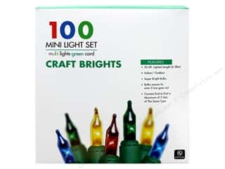 craft & hobbies: Sierra Pacific Crafts Lights Add-A-Set 100 ct Multi