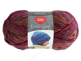 yarn & needlework: Coats & Clark Red Heart Evermore Yarn 3.5 oz Autumn