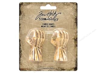 resin: Tim Holtz Idea-ology Halloween Zombie Hands