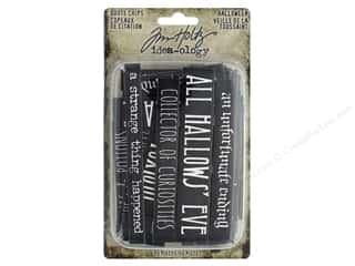 scrapbooking & paper crafts: Tim Holtz Idea-ology Halloween Quote Chips