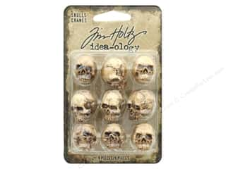 resin: Tim Holtz Idea-ology Halloween Skulls