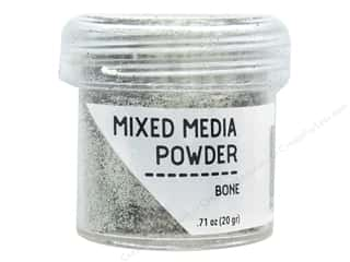 embossing ink: Ranger Embossing Powder Mixed Media Bone