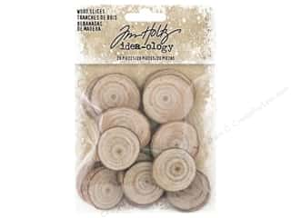 Tim Holtz Idea-ology Christmas Wood Slices