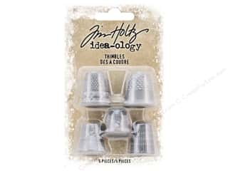 scrapbooking & paper crafts: Tim Holtz Idea-ology Christmas Thimbles
