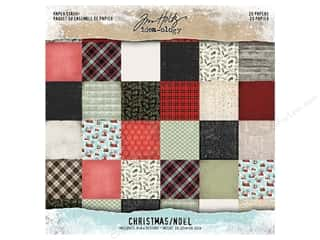 Tim Holtz Idea-ology Christmas Paper Stash