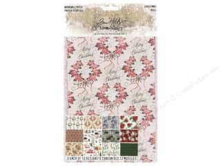 scrapbooking & paper crafts: Tim Holtz Idea-ology Christmas Worn Wallpaper