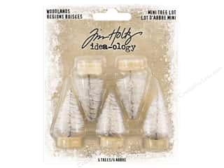 Tim Holtz Idea-ology Christmas Woodland Tree Mini