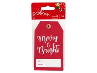 Clearance: Pebbles Collection Cozy & Bright Tags