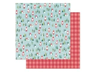 Clearance: Pebbles Collection Cozy & Bright Paper 12 in. x 12 in. Santa Land (25 pieces)