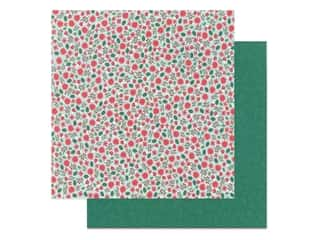 scrapbooking & paper crafts: Pebbles Collection Cozy & Bright Paper 12 in. x 12 in. Christmas Magic (25 pieces)