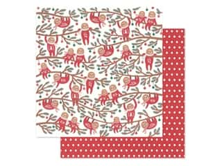 Clearance: Pebbles Collection Cozy & Bright Paper 12 in. x 12 in. Jingle All The Way (25 pieces)