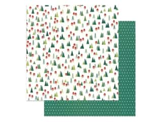 Clearance: Pebbles Cozy & Bright Collection Paper 12 in. x 12 in. Home For Christmas (25 pieces)