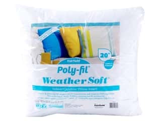 "Fairfield Weather Soft Poly Fil Pillow Insert 20""x 20"""