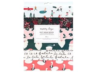 Clearance: Crate Paper Collection Merry Days Gift Wrap Book
