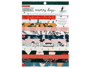 Crate Paper Collection Merry Days Paper Pad 6 in. x 8 in.