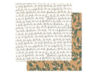 Crate Paper Collection Merry Days Paper 12 in. x 12 in. Mistletoe (25 pieces)