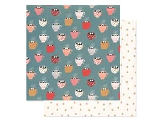 Crate Paper Collection Merry Days Paper 12 in. x 12 in. Peace (25 pieces)