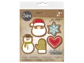 Sizzix Tim Holtz Thinlits Die Set 17 pc. Fresh Baked #1