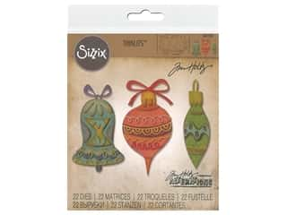 die cuts: Sizzix Dies Tim Holtz Thinlits Whimsy Decor
