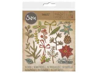 Sizzix Tim Holtz Thinlits Die Set 16 pc. Funky Festive