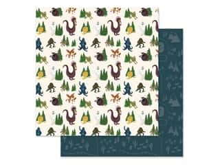Clearance: Echo Park Collection Adventure Awaits Paper 12 in. x 12 in. Creatures Of The Woods (25 pieces)