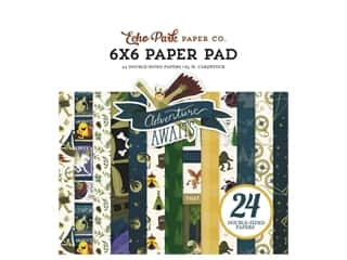 Clearance: Echo Park Collection Adventure Awaits Paper Pad 6 in. x 6 in.