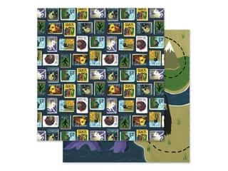 Clearance: Echo Park Collection Adventure Awaits Paper 12 in. x 12 in. Monster Tales (25 pieces)