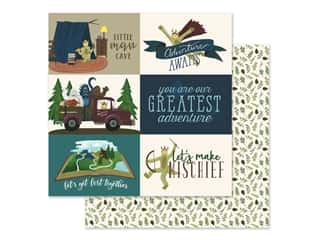 Clearance: Echo Park Collection Adventure Awaits Paper 12 in. x 12 in. Journaling Cards 4 in. x 6 in. (25 pieces)