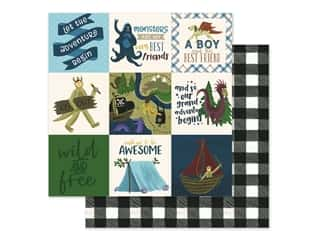 Clearance: Echo Park Collection Adventure Awaits Paper 12 in. x 12 in. Journaling Cards 4 in. x 4 in. (25 pieces)