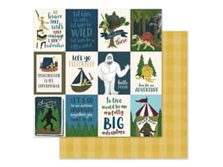 Clearance: Echo Park Collection Adventure Awaits Paper 12 in. x 12 in. Journaling Cards 3 in. x 4 in. (25 pieces)