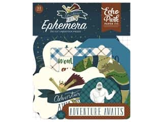 Clearance: Echo Park Collection Adventure Awaits Ephemera