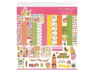 Photoplay Collection Birthday Wishes Girl Collection Pack 12 in. x 12 in.