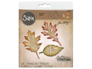 leaves: Sizzix Bigz Die Tattered Leaves by Tim Holtz