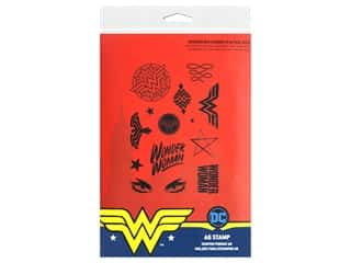 Character World Stamp DC Comics Wonder Woman