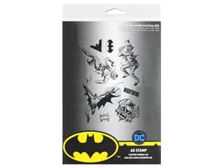 scrapbooking & paper crafts: Character World Stamp DC Comics Batman