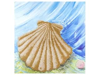 craft & hobbies: Diamond Art Kit 12 x 12 in. Shell