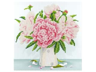 craft & hobbies: Diamond Art Kit 12 x 12 in. English Roses