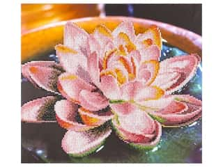 craft & hobbies: Diamond Art Kit 14 x 16 in. Lotus
