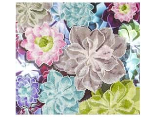 craft & hobbies: Diamond Art Kit 14 x 16 in. Succulents