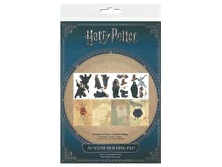 patterned paper : Character World Paper Pad Warner Bros Harry Potter