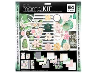 Me&My Big Ideas Kit Scrapbook 12 in. x 12 in. Floral Memories